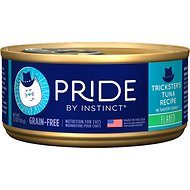 Nature's Variety Pride by Instinct Grain-Free Flaked Trickster's Tuna Recipe Wet Canned Cat Food, 5.5-oz, case of 12