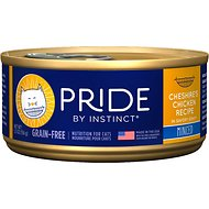 Nature's Variety Pride by Instinct Cheshire's Chicken Recipe Minced Grain-Free Canned Cat Food, 5.5-oz, case of 12