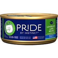 Nature's Variety Pride by Instinct Lovebug's Lamb Recipe Minced Grain-Free Canned Cat Food, 5.5-oz, case of 12