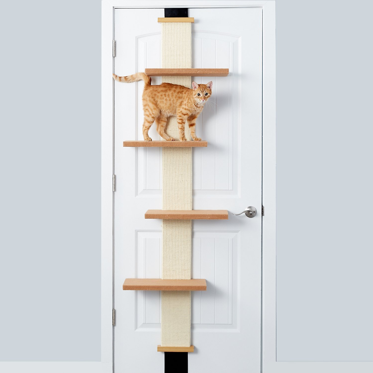Smartcat Climber Door Mounted Hanging Sisal Cat Tree Free Shipping Chewy