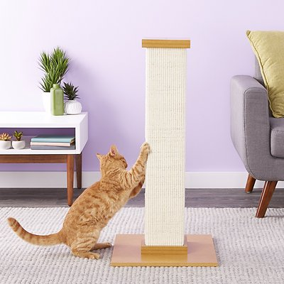 3. SmartCat The Ultimate 32-in Sisal Cat Scratching Post