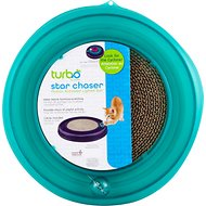 Bergan Star Chaser Turbo Scratcher Cat Toy, Color Varies