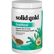 Solid Gold Supplements SeaMeal Skin & Coat, Digestive & Immune Health Powder Grain-Free Dog & Cat Supplement, 1-lb
