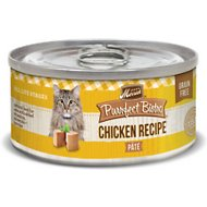 Merrick Purrfect Bistro Grain-Free Chicken Pate Canned Cat Food, 3-oz, case of 24