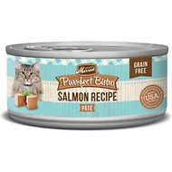 Merrick Purrfect Bistro Grain-Free Salmon Pate Canned Cat Food, 5.5-oz, case of 24
