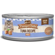Merrick Purrfect Bistro Grain-Free Tuna Pate Canned Cat Food, 5.5-oz, case of 24