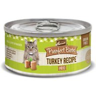Merrick Purrfect Bistro Grain-Free Turkey Pate Canned Cat Food, 3-oz, case of 24