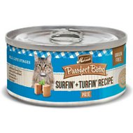 Merrick Purrfect Bistro Grain-Free Surf & Turf Pate Canned Cat Food, 3-oz, case of 24