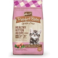 Merrick Purrfect Bistro Grain-Free Healthy Kitten Recipe Dry Cat Food, 4-lb bag