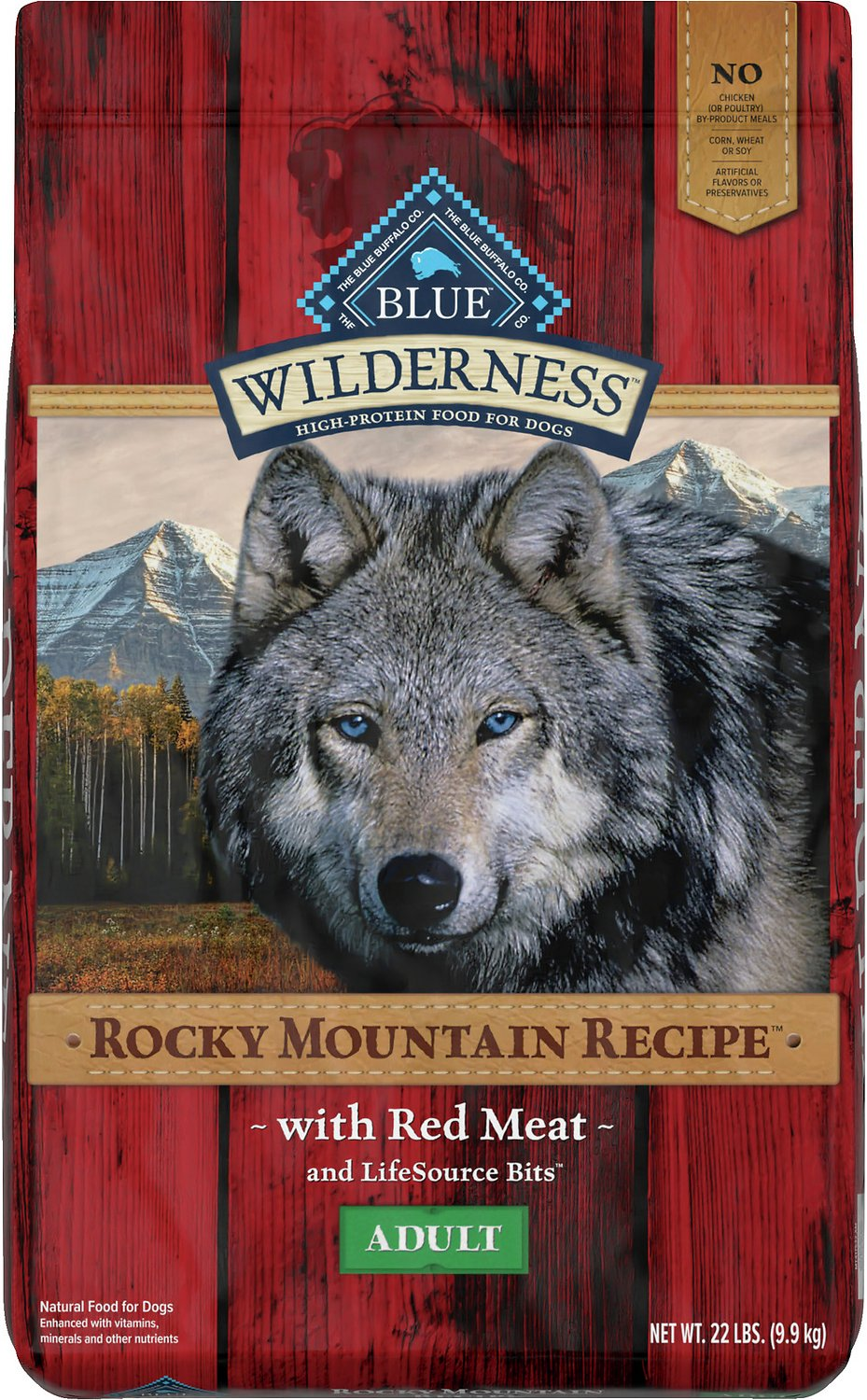 Blue Buffalo Wilderness Rocky Mountain Recipe With Red Meat Adult