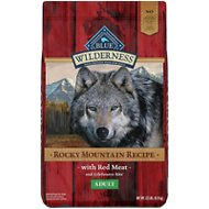 Blue Buffalo Wilderness Rocky Mountain Recipe with Red Meat Adult Grain-Free Dry Dog Food, 22-lb bag