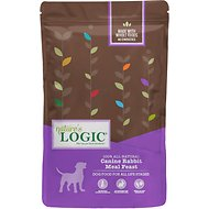 Nature's Logic Canine Rabbit Meal Feast Dry Dog Food, 4.4-lb bag
