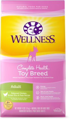 9. Wellness Complete Toy Breed