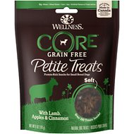 Wellness CORE Petite Treats Soft Mini-Bites with Lamb, Apples & Cinnamon Grain-Free Dog Treats