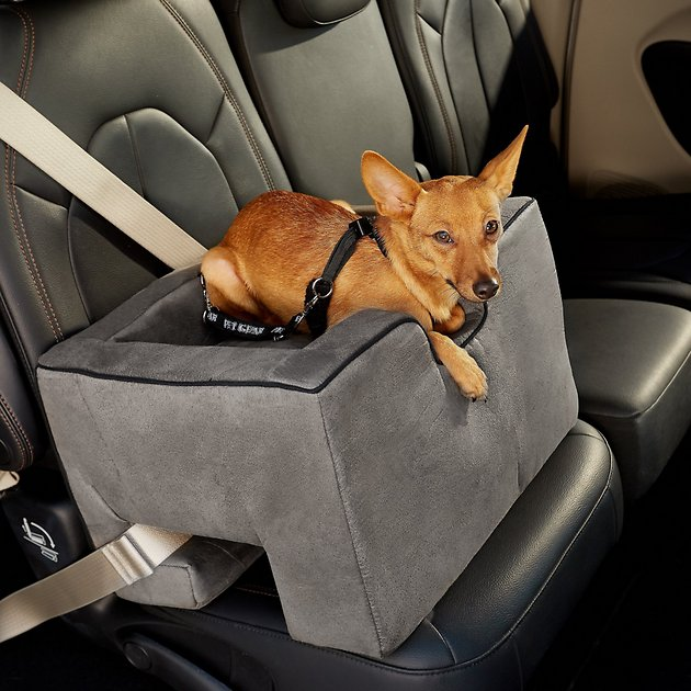 Pet Gear Medium Car Booster Charcoal Chewy Com