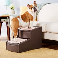 Pet Gear Easy Step II Pet Stair, Chocolate