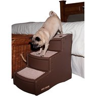 Pet Gear Easy Step III Pet Stair, Chocolate