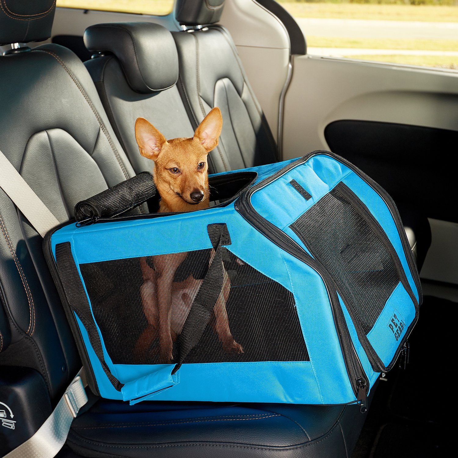 pet gear signature pet car seat carrier aqua. Black Bedroom Furniture Sets. Home Design Ideas