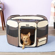 Pet Gear Travel Lite Soft-Sided Pet Pen with Removable Top, Sahara, Small