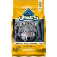 Blue Buffalo Wilderness Healthy Weight Chicken Recipe Grain-Free Dry Dog Food, 4.5-lb bag