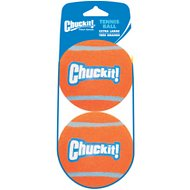 Chuckit! Tennis Ball, X-Large, 2 pack