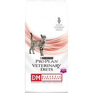Purina Pro Plan Veterinary Diets DM Dietetic Management Formula Dry Cat Food, 10-lb bag