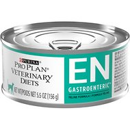 Purina Pro Plan Veterinary Diets EN Gastroenteric Formula Canned Cat Food, 5.5-oz, case of 24