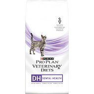 Purina Pro Plan Veterinary Diets DH Dental Health Formula Dry Cat Food, 6-lb bag