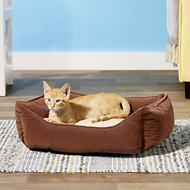 Catit Style Cuddle Bed, Brown/Beige