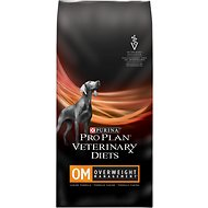 Purina Pro Plan Veterinary Diets OM Overweight Management Formula Dry Dog Food, 6-lb bag