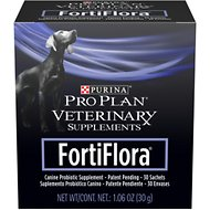 Purina Pro Plan Veterinary Diets FortiFlora Probiotic Gastrointestinal Support Dog Supplement, 30 count, 1 pack