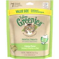 Greenies Feline Catnip Flavor Dental Cat Treats, 5.5-oz bag