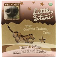 Wet Noses Peanut Butter Little Stars Dog Treats, 9-oz box