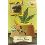 Wet Noses Hemp Seed & Banana Dog Treats, 14-oz box