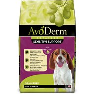 AvoDerm Natural Grain-Free Revolving Menu Duck Recipe Adult Dry Dog Food, 22-lb bag