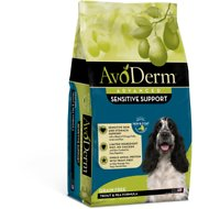 AvoDerm Natural Grain-Free Revolving Menu Trout & Pea Recipe Adult Dry Dog Food, 4-lb bag
