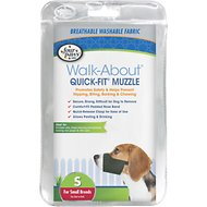 Four Paws Walk-About Quick-Fit Dog Muzzle, S