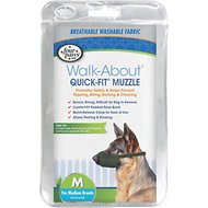Four Paws Walk-About Quick-Fit Dog Muzzle, M