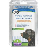 Four Paws Walk-About Quick-Fit Dog Muzzle, L