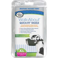 Four Paws Walk-About Quick-Fit Dog Muzzle, XL