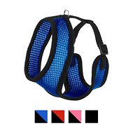 Four Paws Comfort Control Dog Harness, Blue, Small