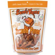 "Sam's Yams Bichon ""Fries"" Sweet Potato Dog Treats, 9-oz bag"