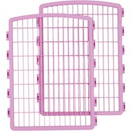 IRIS 2-Piece Add-on Expansion Kit for 8 Panels Exercise Plastic Pen, Pink
