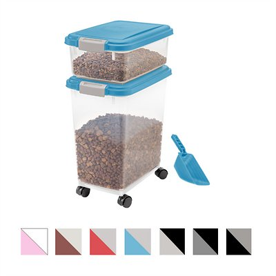 IRIS Airtight Food Storage Container & Scoop Combo