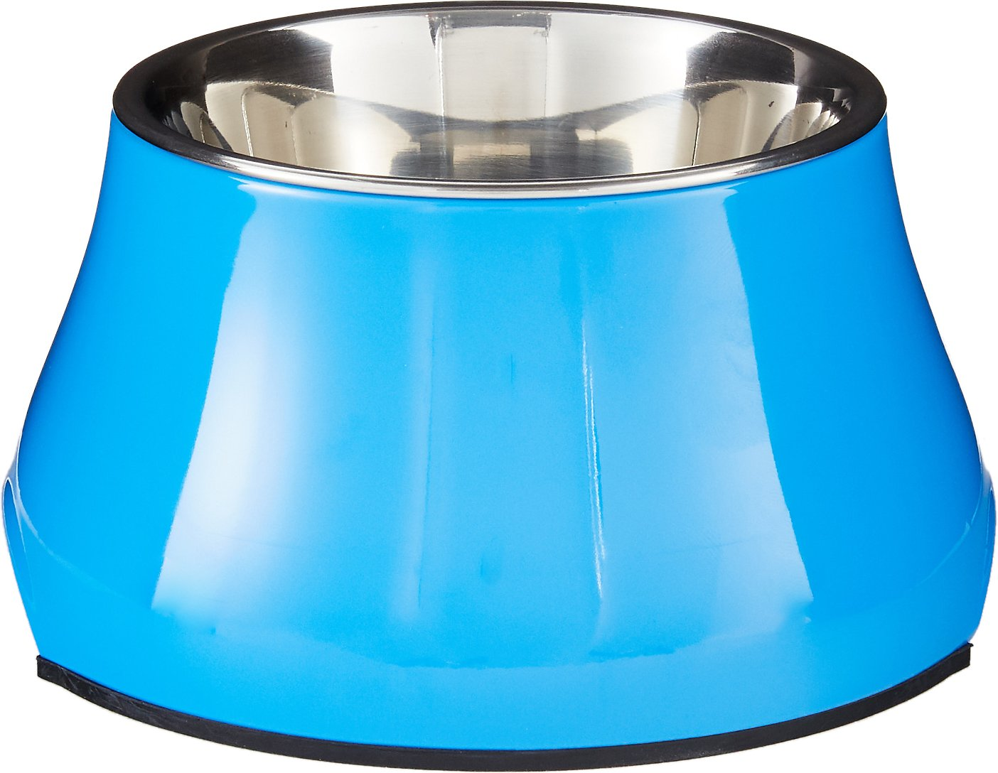 Dogit Elevated Dog Bowl Blue Small 1 25 Cups Chewy Com