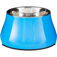 Dogit Elevated Dog Bowl, Blue, Small