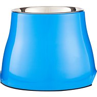 Dogit Elevated Dog Bowl, Blue, Large