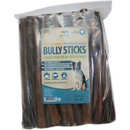 "Pet's Choice Naturals Bully Sticks 12"" Dog Treats, 50 count"