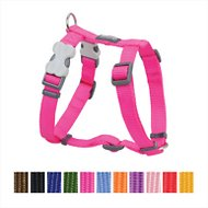 Red Dingo Classic Dog Harness, Hot Pink, Large