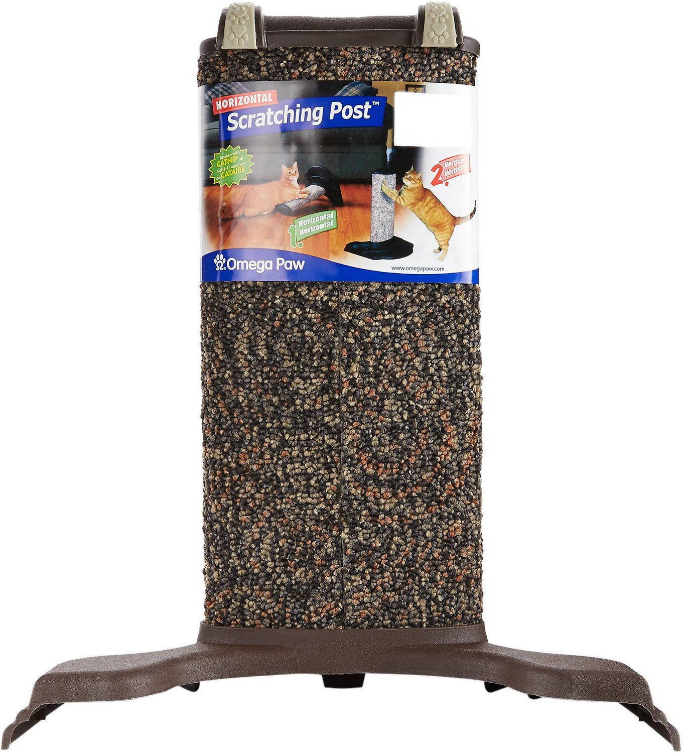 omega paw horizontal cat scratching post color varies - Cat Scratching Post
